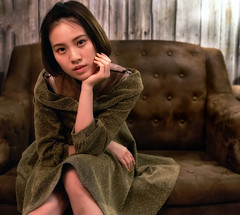 Melody (jsvamm) Tags: ifttt 500px melody light studio face pretty sexy look eyes hair lips mouth girl young hong kong female couch lounge sitting room settee davenport divan sofa drawing pillow womanhood comfortable nightie