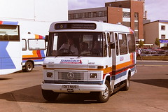 STAGECOACH WESTERN SCOTTISH AZ217 D117NUS (bobbyblack51) Tags: stagecoach western scottish az217 d117nus mercedes benz l608d alexander am kelvinscottish 1117 ayr bus station 1995