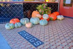 DSCF2028.jpg (RHMImages) Tags: xt3 drugs fall fuji streetphotography nevadacounty sign nevadacity fujifilm pumpkins