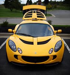 Lotus Elise at Austin Landing near Dayton (Randy Durrum) Tags: lotus elise austin landing dayton yello sorts car durrum nikin 5300
