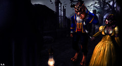 Bad Union (ÐΔЯҚǤIЯĿ) Tags: macabre halloween horror haunted secondelife beast beauty