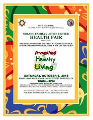 Neptune Society of Northern California: Fairfield, CA - Solano Family Justice Center Health Fair