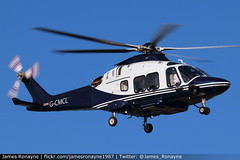 G-CMCL   Agusta AW169   Elite Helicopters (james.ronayne) Tags: gcmcl agusta aw169 cmcl limited partnership elite helicopters heli helicopter chopper agustawestland rotors london luton ltn eggw canon 80d 100400mm raw