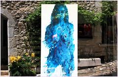Rue Grande, Saint-Paul-de-Vence, Alpes-Maritimes, Provence-Alpes-Côte d'Azur, France (claude lina) Tags: claudelina france provencealpescôtedazur alpesmaritimes saintpauldevence peinture painting tableau