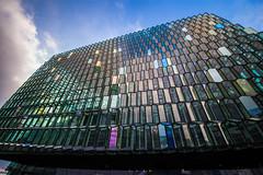 Reykjavik2018_051Harpa (schulzharri) Tags: island iceland harpa reykjavik europa europe architektur arcitektur glas building gebäude kuste art farben colours
