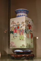 Porcelain vase (Can Pac Swire) Tags: alberta canada canadian city downtown calgary chinese art decoration porcelain vase cultural centre 1 street st sw museum 2017aimg0828