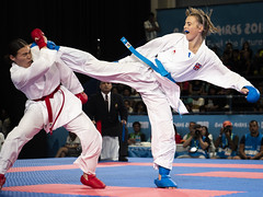 Team GB at the 2018 Youth Olympic Games in Buenos Aires (camerajabber) Tags: youth olympics games olympicgames buenosaires argentina 2018 andyjryan teamgb greatbritain unitedkingdom panasonic lumix g9 karate lauren salisbury