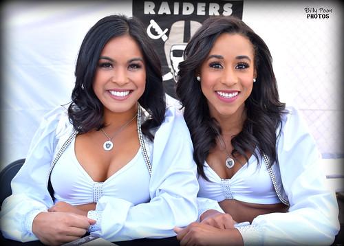 2018 Oakland Raiderettes Sheila & Karly