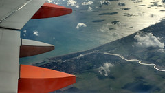 River Adur (neuphin) Tags: river adur shoreham easyjet aerial above