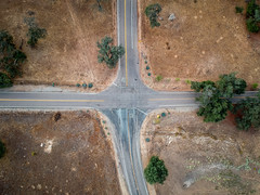 I will go this way... (Adam J Gaeth) Tags: roads roadway spark dji drone outdoors