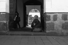 Ecuador (Magdalena Szata) Tags: 2017 analog ecuador ilforddelta100 ilfordid11 minoltaxd7 people quito women working blackwhite streetphotography