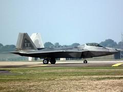 09-4177/FF F-22A Raptor Lakenheath 10-10-18 (BusterG4) Tags: unitedstatesairforce lakenheath 1fw 94fs lockheed f22a f22 raptor ff 094177 4177