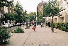 Marchmont Street (Chi Bellami) Tags: film fujifilm fujicolor c200 nikon nikonosv 35mm zonefocus scalefocus scanned scan colour c41 negative photohippo chibellami amphibiouscamera nikonos london londonist marchmontstreet bloomsbury street