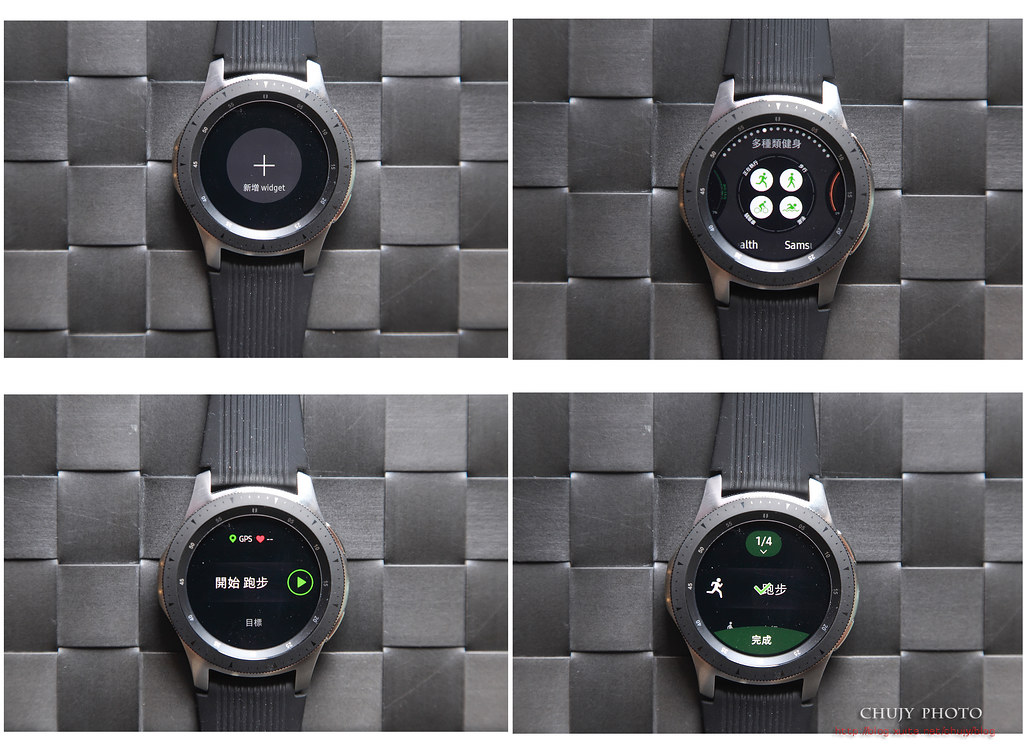 (chujy) Samsung Galaxy Watch 時尚。好用。妖受讚