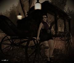 Day 13 - Goth (KoreRae) Tags: halloween halloweencostumechallenge goth gothic arranmore fashion womensfashion