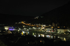 Die Mosel bei Nacht / Moselle at night (herbert@plagge) Tags: cochem cond mosel brücke fluss nacht deutschland bridge germany moselle river night