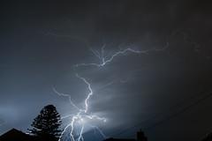 One Shot Wonder (wolfcat_aus) Tags: green storm lightning melbourne night longexposure weather dramatic thunderstorm nikon d7100 nikond7100 sigma 18200mm melbweather morning