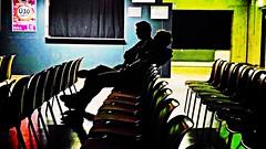 Ü30 (Maquarius) Tags: männer personen menschen stühle ü30 silhouetten