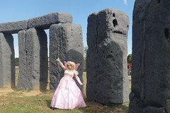 Wands at the ready, Mister Potter! (rgaines) Tags: costume cosplay crossplay drag fairyprincess fairygodmother coxfarms foamhenge