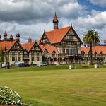 Museum, Government Gardens, Rotorua, NZ thumbnail