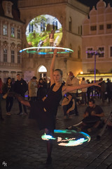 The portals evoker (Andrea Rizzi Esk) Tags: street praga prague republic europe travel person woman play event celebration disk signal festival warm night gamble czech