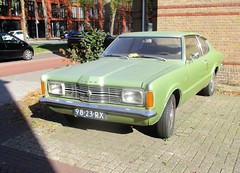 1971 Ford Taunus 1600 XL Coupe (occama) Tags: 9823rx 1971 ford taunus 1600 xl coupe green old german car netherlands holland