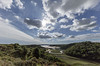 September skies over Pennard Pill
