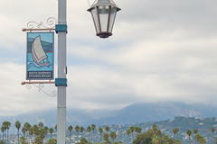 Stearns Wharf (kalikko) Tags: california cali disneyland disney californiaadventure santabarbara anaheim stearns wharf water pacific ocean mountains westcoast