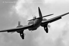 4510 Blenheim (photozone72) Tags: duxford airshows aircraft airshow aviation canon canon7dmk2 7dmk2 canon100400f4556lii warbirds wwii props blenheim bristolblenheim mono blackwhite bw