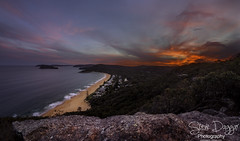 0S1A1832 (Steve Daggar) Tags: pearlbeach nswcentralcoast gosford woywoy landscape sunset seascape brisbanewaternationalpark