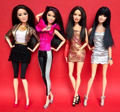 Raquelle (honeysuckle jasmine) Tags: dolls doll fashionistas fashion raquelle barbie