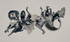 The Dance (mightyjoecastro) Tags: mightyjoecastromixedmediacollagecutpasterayjohnson art arte artist analogcollage arts contemporaryart cut modernart blackandwhite monotone dance dancer music movement graphic design poster print