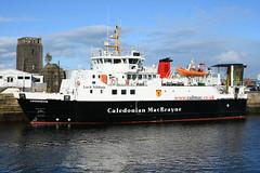 MV Lochnevis - Greenock - 22-09-18 (MarkP51) Tags: mvlochnevis greenock jameswattdock scotland caledonianmacbrayne car ferry ship boat vessel maritimephotography sunshine sunny nikon d7200 nikon24120f4vr