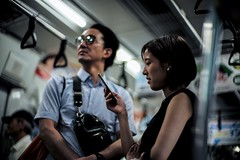 Pretty couple II (jaxting) Tags: jaxting m240 couple 東京 tokyo people candid noctilux leica