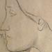 DEGAS Edgar,1860-62 - Sémiramis construisant Babylone, Etude (Louvre RF15526) - Detail 18