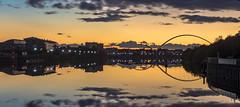 Stockton on Tees-8 (simon.mccabe.5) Tags: river stockton simonmccabe tees teeside council colour uk bridge sunset water