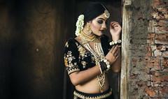 Bride (saikatsarkar92) Tags: fashion portrait bride traditional sexy beautiful bengali girl jewelry