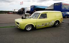 Morris Marina van_2990 (Fast an' Bulbous) Tags: car vehicle dragster drag race track strip pits santa pod outdoor nikon racecar motorsport