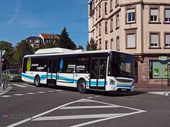 Iveco Urbanway 12 - Cabus (Pi Eye) Tags: bus autobus gnv cng erdgas gaz irisbus iveco urbanway cabus sarreguemines