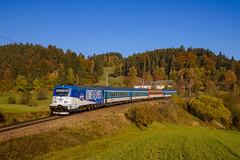"""380 017 """"Kometa Expres"""" (139 310) Tags: p cd rex österreich evu baureihe rex1541 zugnummer kbs 380 380017 kbs141 personenzug summerauerbahn waldburg oberösterreich at"""