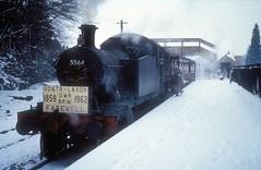 5564  xxxxxxxx  29.12.62 (w. + h. brutzer) Tags: grosbritannien webru eisenbahn eisenbahnen train trains england dampflok dampfloks steam lokomotive locomotive analog nikon railway
