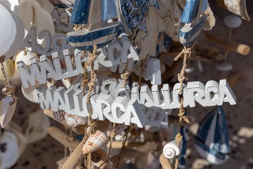 Souvenirs mit Meermotiven, Schiffen und Muscheln aus Mallorca