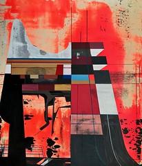Jim Harris: Elmschenhagen-Nord. (Jim Harris: Artist.) Tags: art arte painting kunst konst schilderij