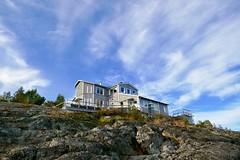 Lotsstugan - The Pilots' Cottage (keibr) Tags: autumn blip blipfoto fall harnosea keibr lotsstugan sea walk 181016kb
