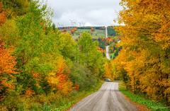 Route et éoliennes en HDR (guysamsonphoto) Tags: guysamson hdr paysage aurorahdr2019 fall automne autumn road route