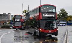 Double 36... (KLTP17) Tags: harrogate bus transdev 36 leeds wrightbus gemini bl65yyw bf67goe double duo uk