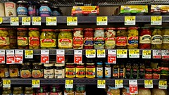 Condiments (Studio d'Xavier) Tags: condiments grocerystore supermarket jars