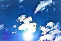 Sunny day (thomasgorman1) Tags: sun sunny sunlight clouds sky nikon blue bright nature desert az arizona