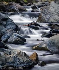 Oak Creek (PamLink) Tags: oakcreekcanyon sedonaarizona waterfall slowshutterspeed water rocks canyon