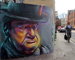 Street Art by Woskerski in Shoreditch. (scats21) Tags:
